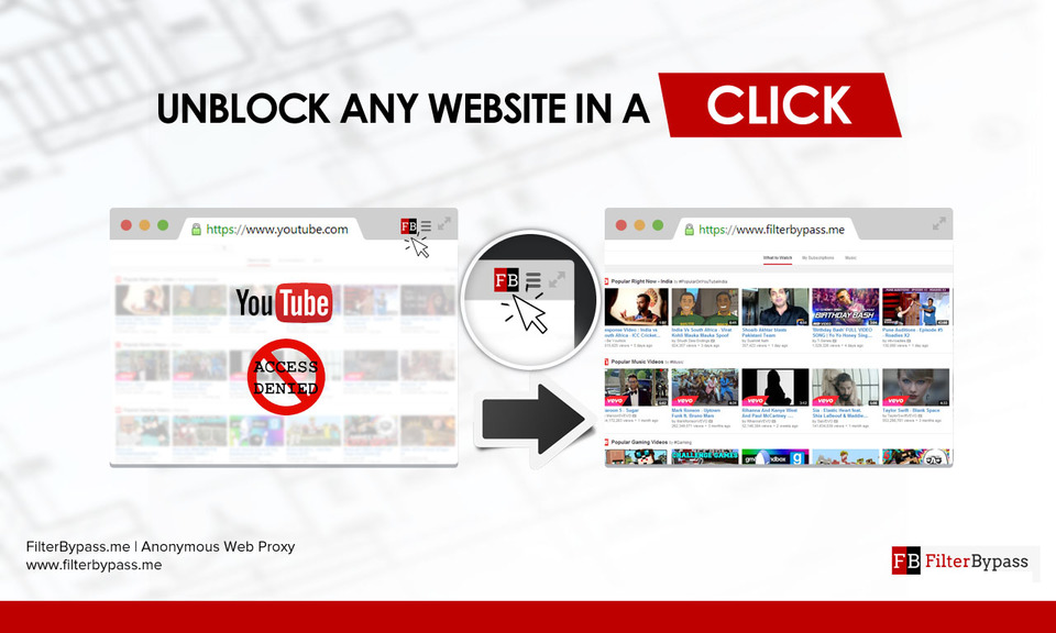 FilterBypass - Unblock any Website
