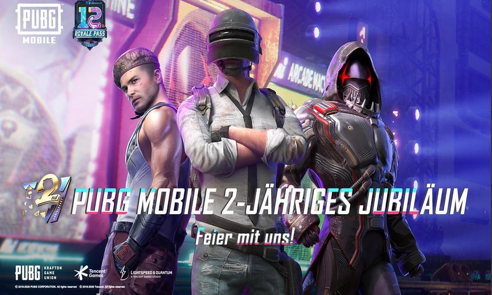 PUBG MOBILE - 2nd Anniversary Game