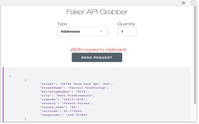 Faker API Grabber