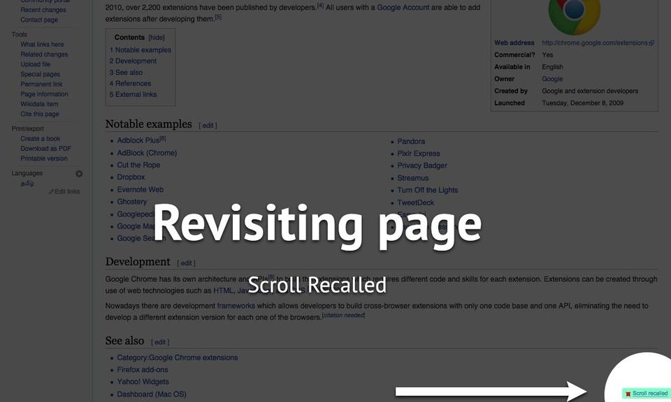 Scroll Recall