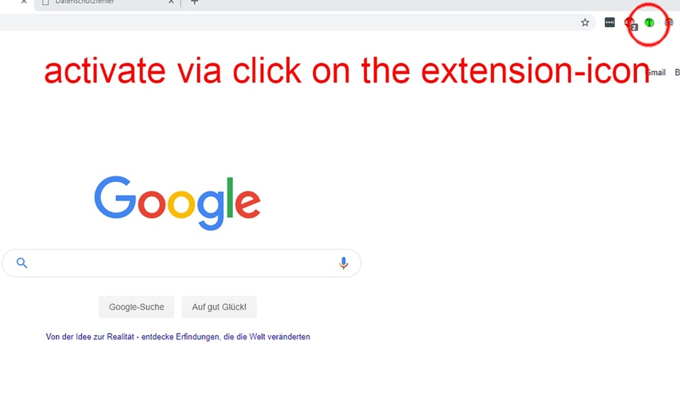 Chrome Extension Tab Switcher