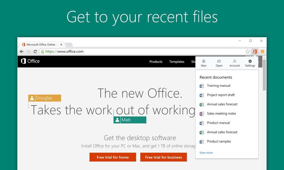Office Online-在浏览器里查看编辑Word、Excel、PPT