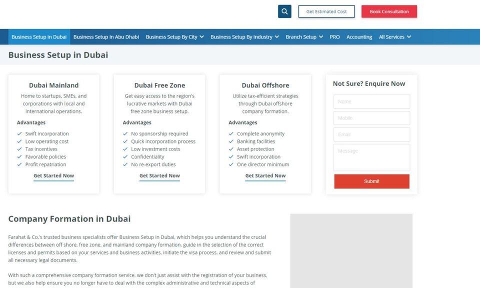 FAR Business Setup & PRO Services