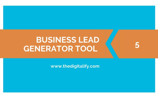 Business Lead Generator Tool - 5