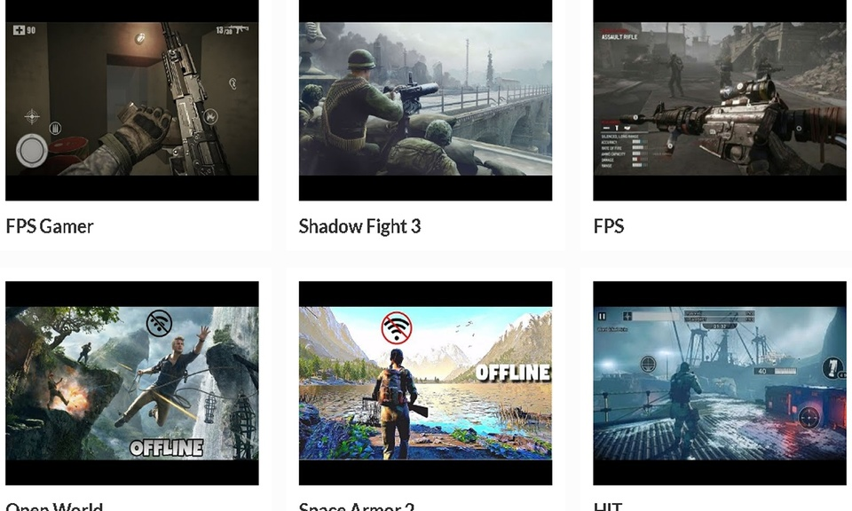 Action Games | AppFront.PW