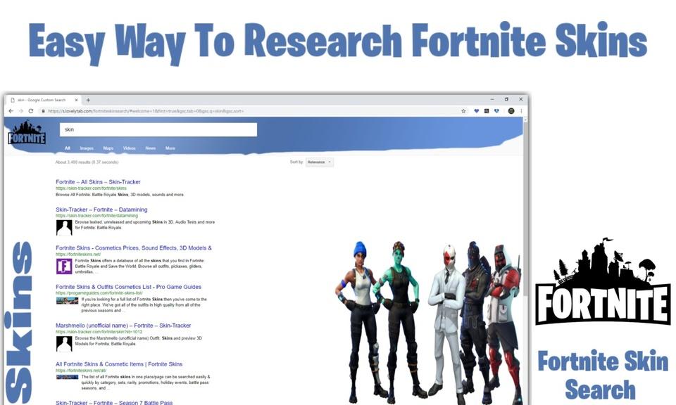 Fortnite Skin Search