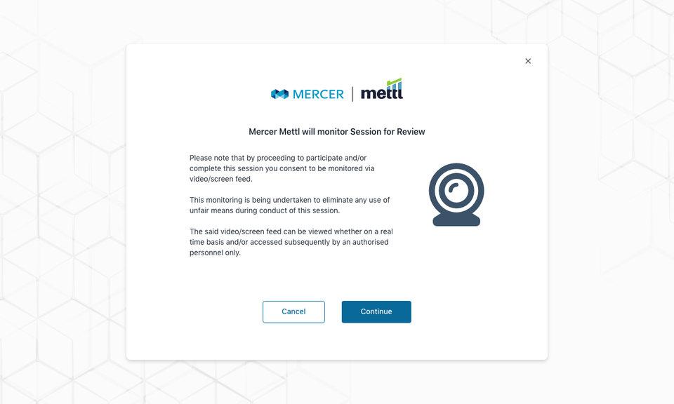 Mettl Proctoring