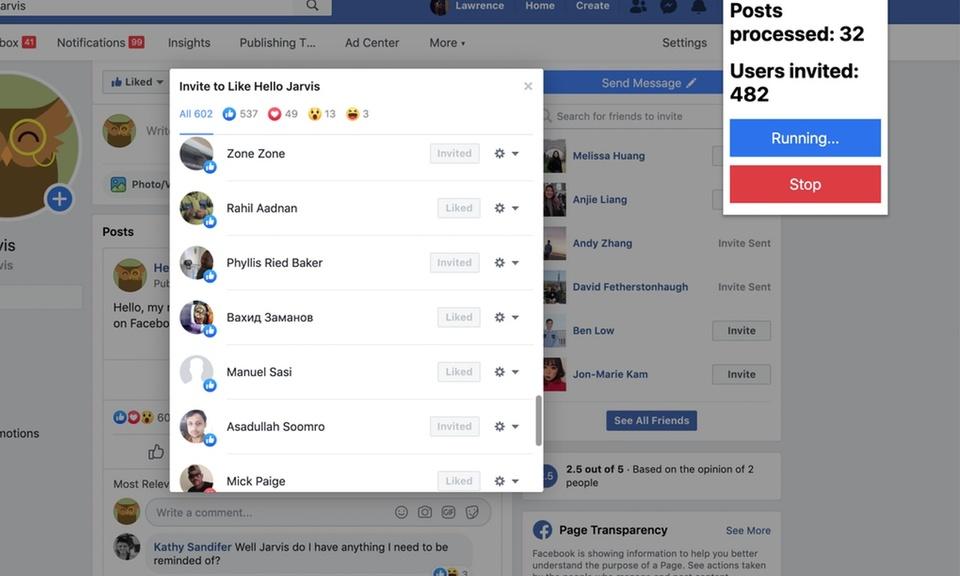 Auto Invite for Facebook