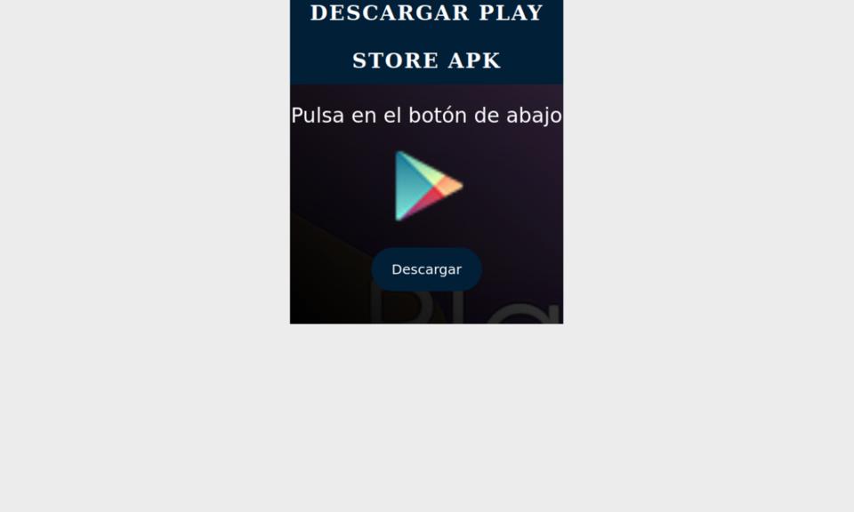 Descargar Play Store APK