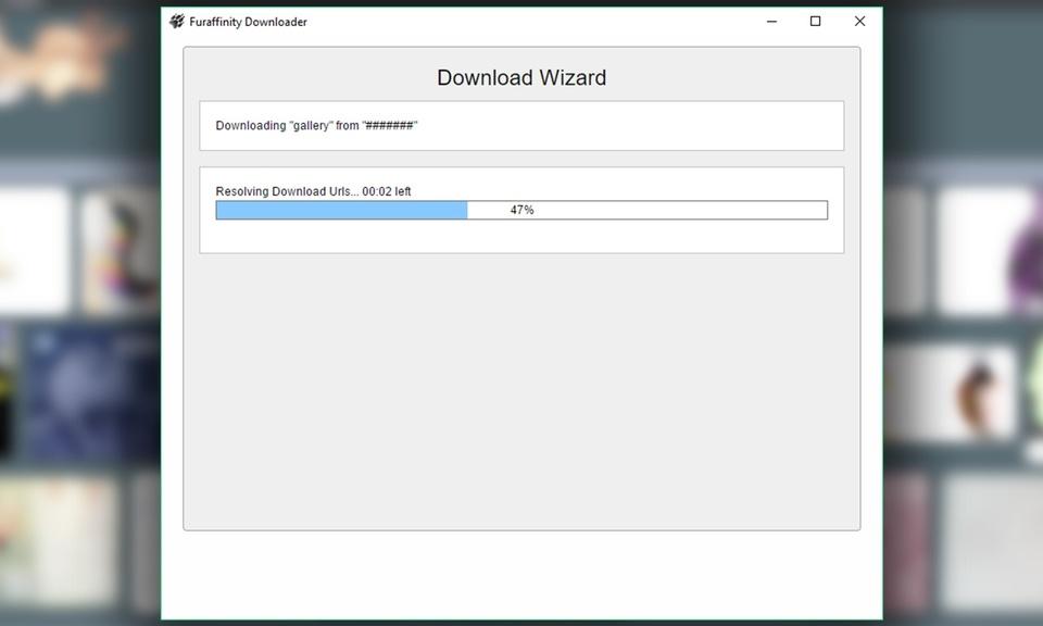 FurAffinity Downloader