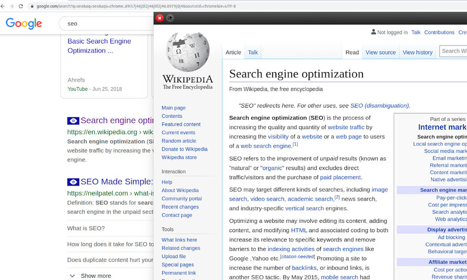 Search Results Previewer