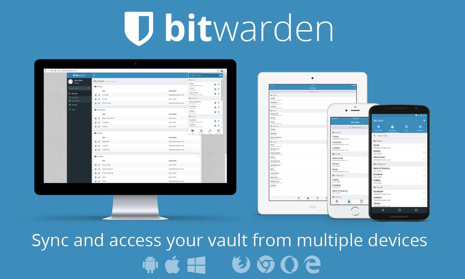Bitwarden - 免费密码管理器