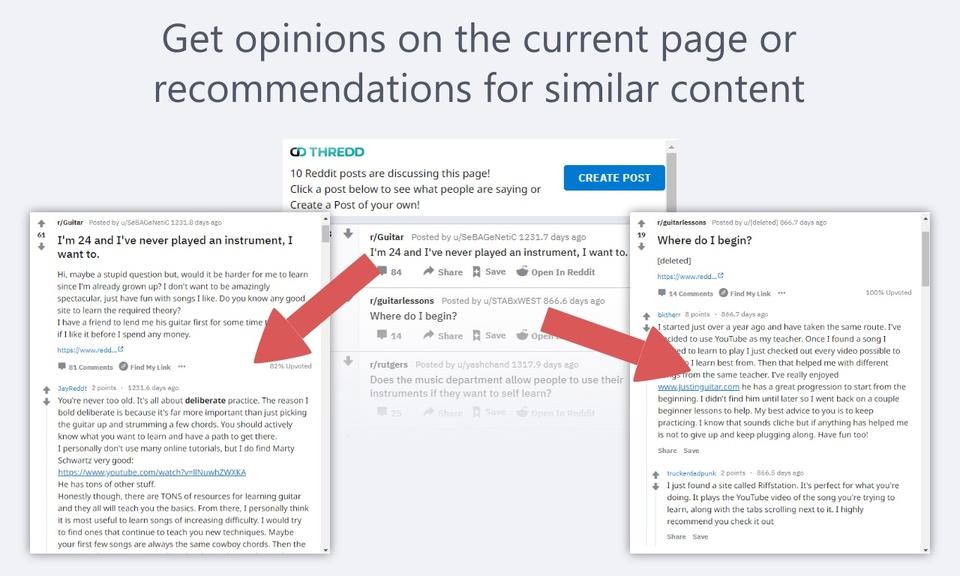 Thredd - Reddit Browser Companion