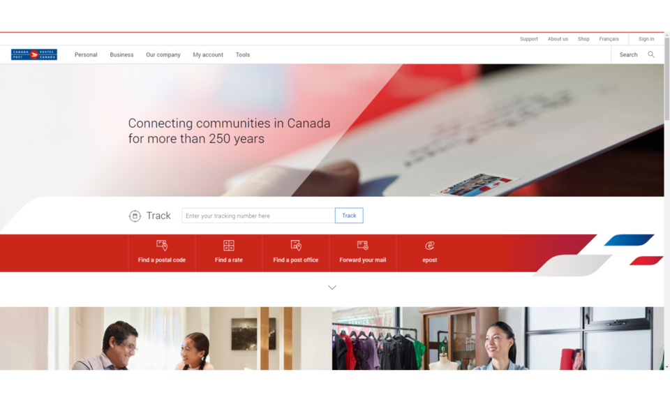 Canada Post - Add Tracking Barcode