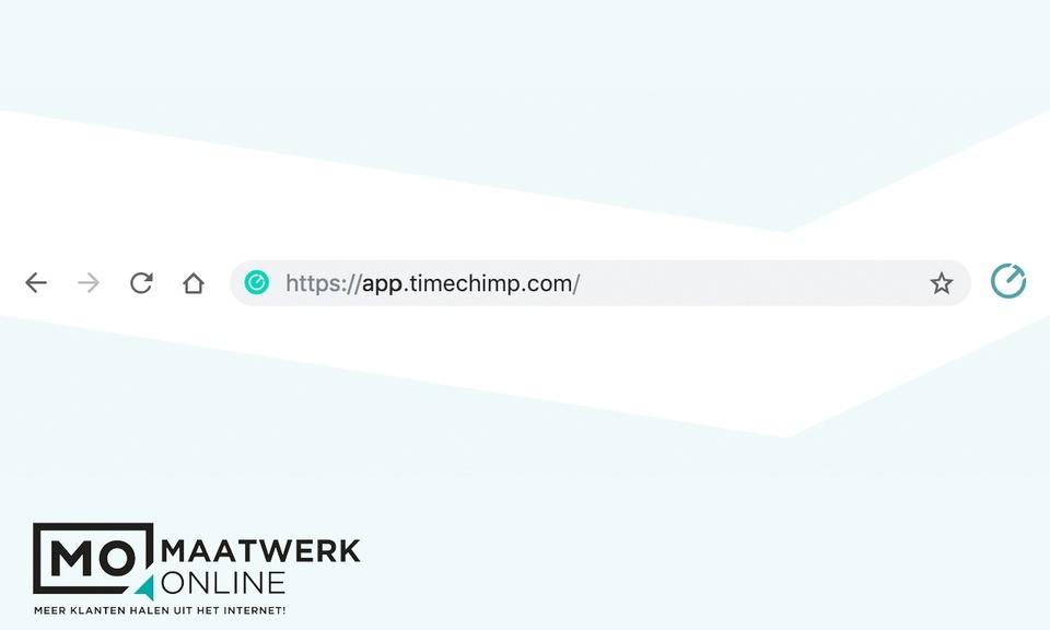 Maatwerk Online TimeChimp integration