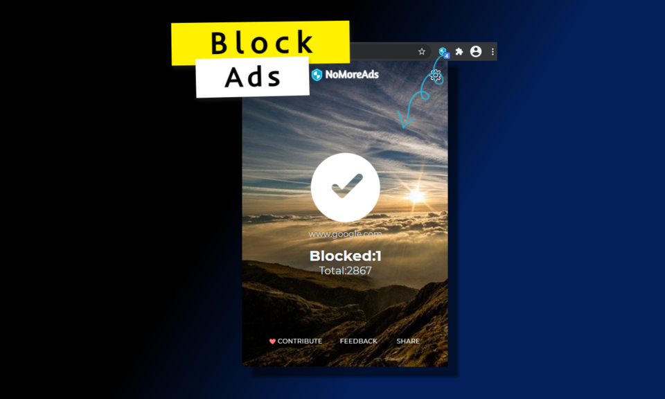 NoMoreAds- Privacy & Ad Blocker