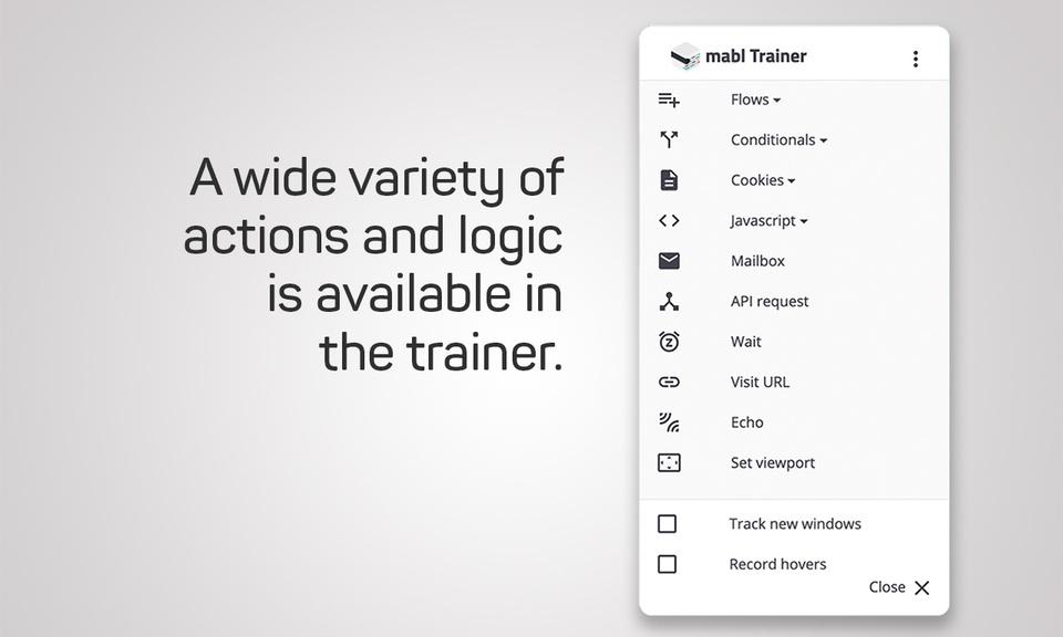 mabl Trainer
