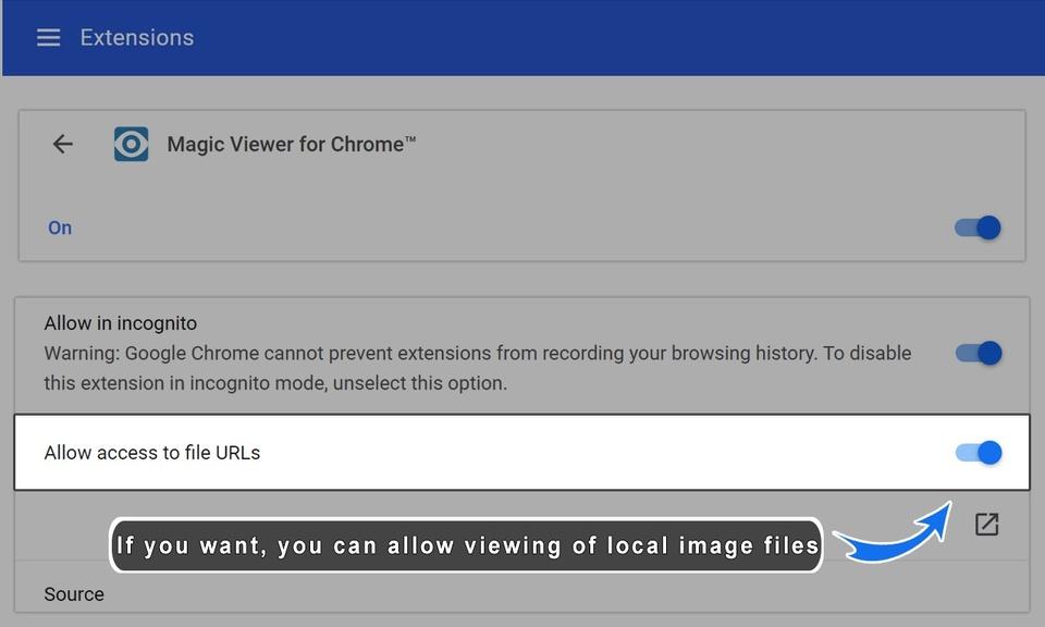 Magic Viewer for Chrome™