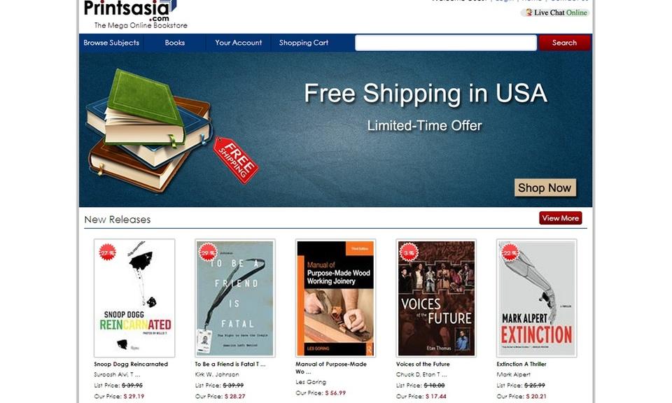 Printsasia : The mega online bookstore