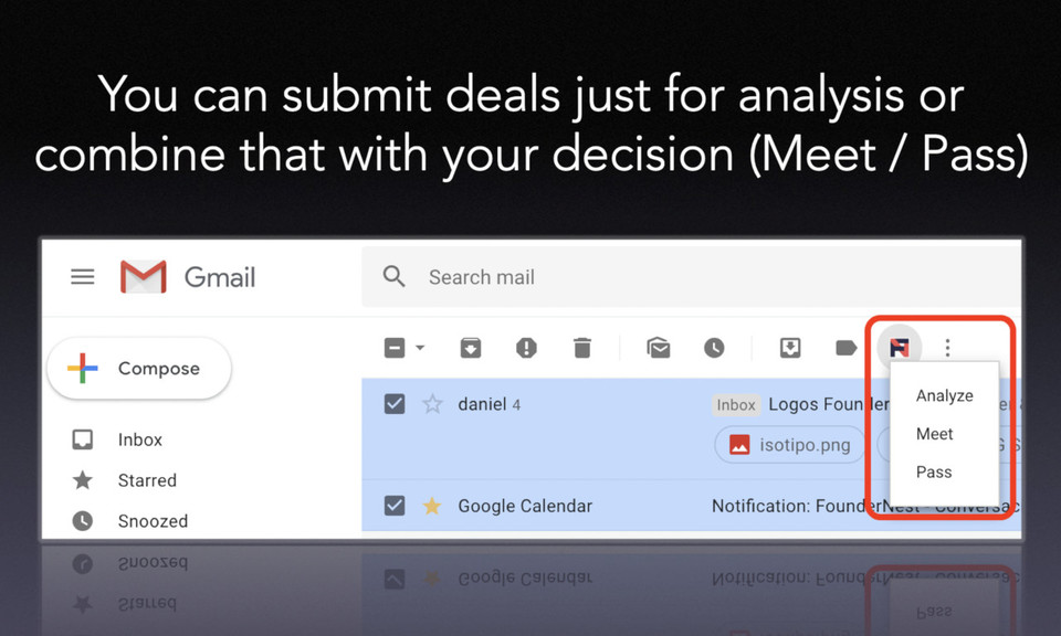 FounderNest for Gmail