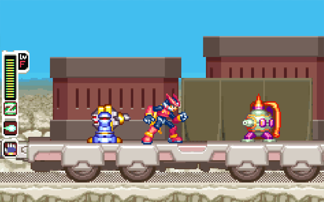 Megaman Zero 4 Game