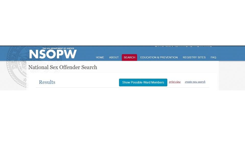 Ward Sex Offender Finder