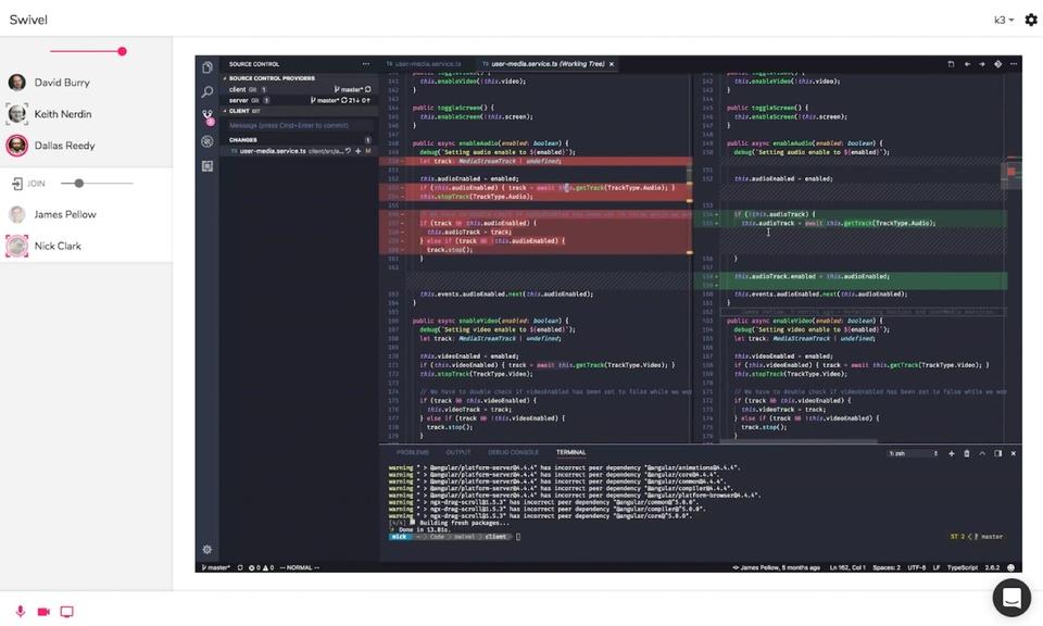 Swivel Screen Sharing
