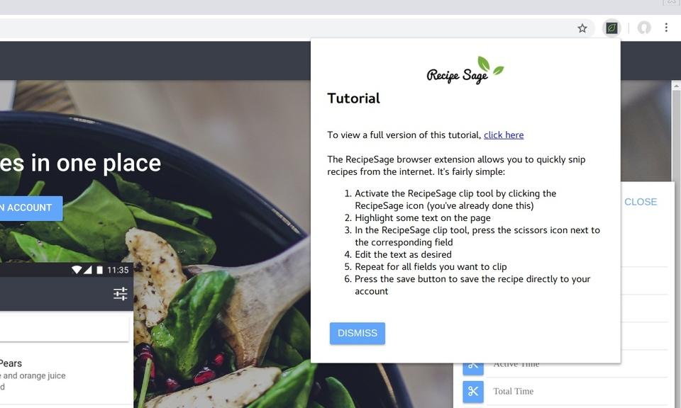 RecipeSage Clip Tool