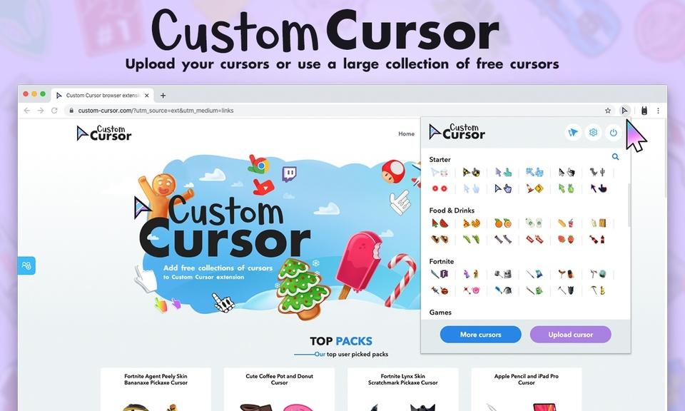 Custom Cursor for Chrome™ - 自定义光标