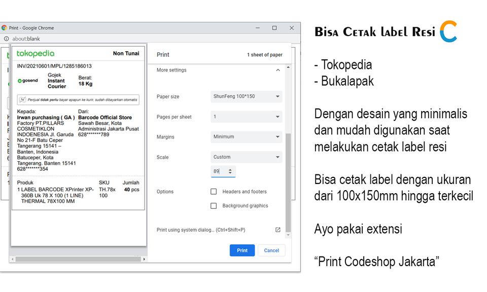 Print Codeshop Jakarta