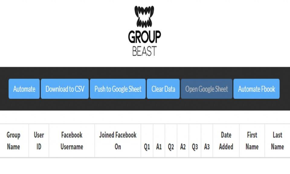 Group Beast