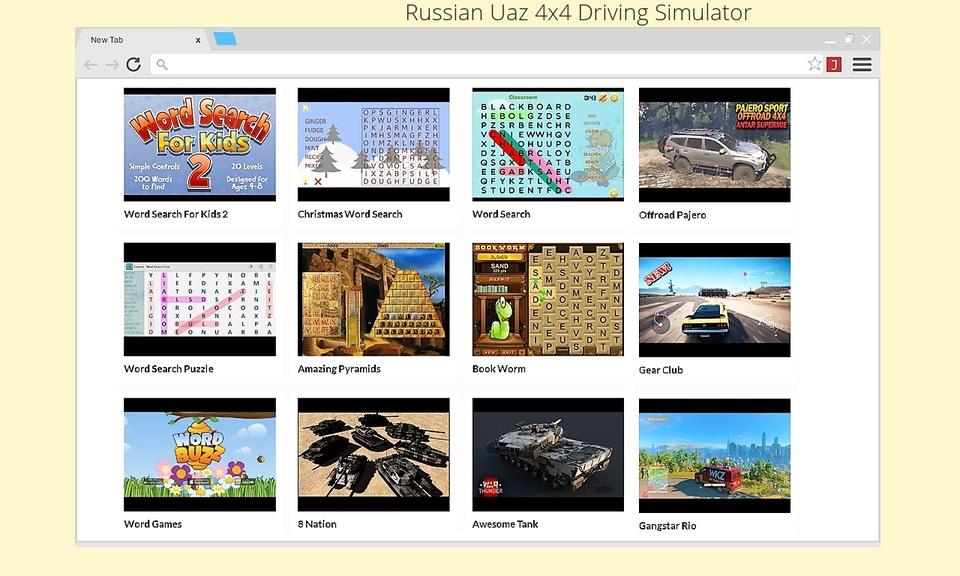 Russian Uaz 4x4 Driving Simulator
