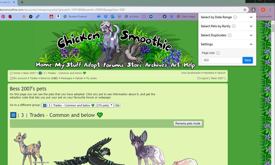 Chicken Smoothie Helper