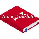 Not a translator 插件