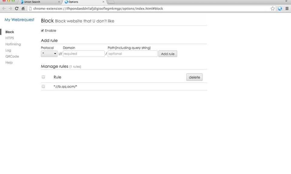 My Webrequest