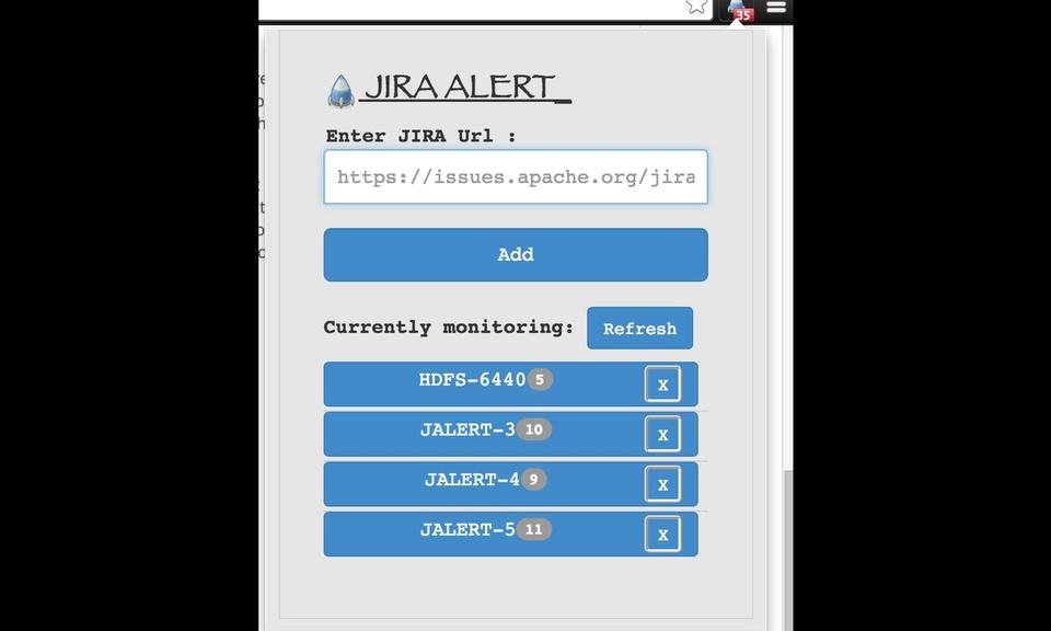 Jira Alert and Updates