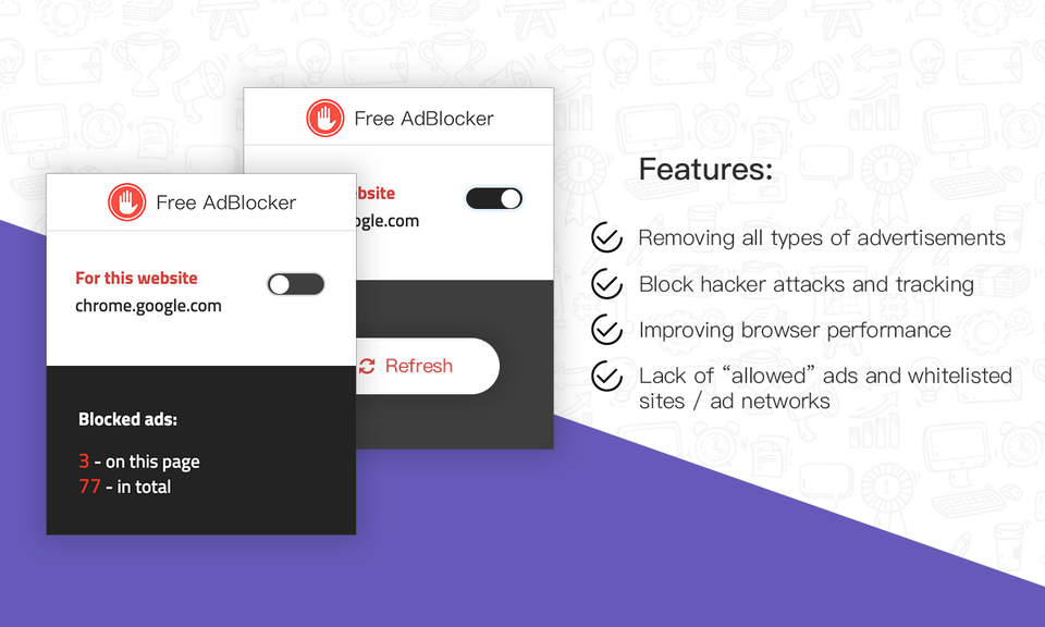 Adblocker-浏览器广告免费拦截工具
