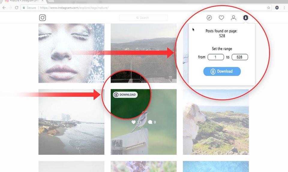 Downloader for Instagram™ (+ Upload photo)-图片与视频批量下载工具