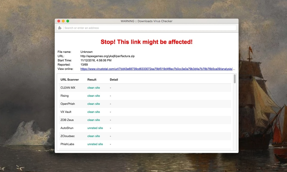 Download Virus Checker