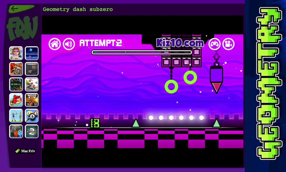 Geometry Dash online game