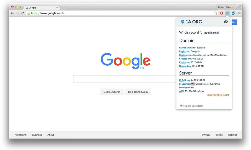 IP Address Lookup & Domain Whois