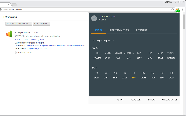 Stock & Cryptocurrency Monitor (Auxiliar 8)