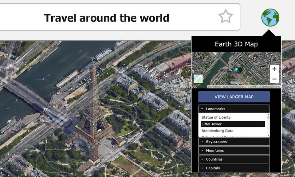 地球3D 地图