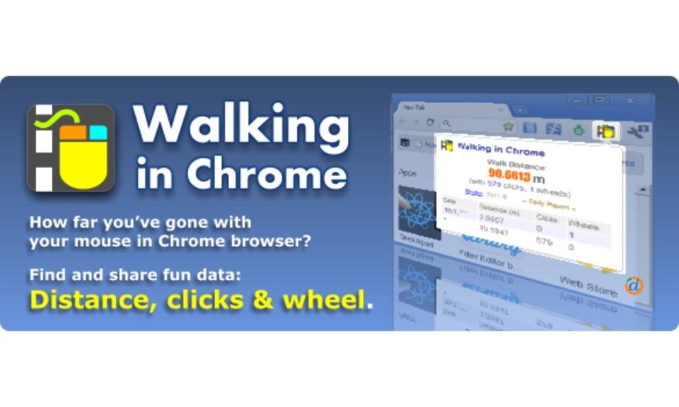 Walking in Chrome