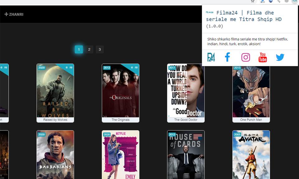 Filma24 | Filma dhe seriale me Titra Shqip HD