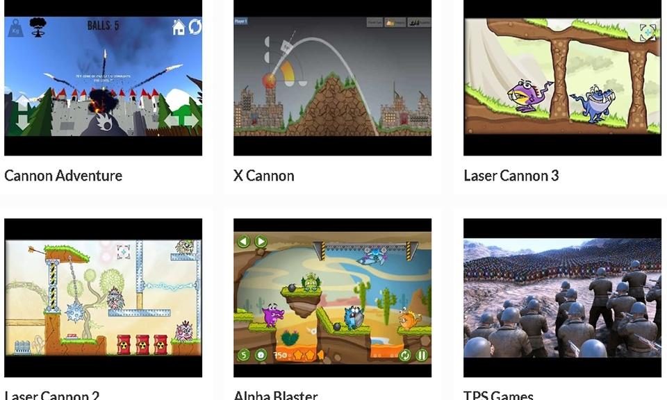 Cannon Games   AppFront.PW