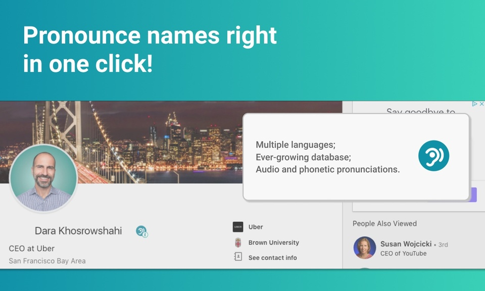 NameShouts Chrome Extension