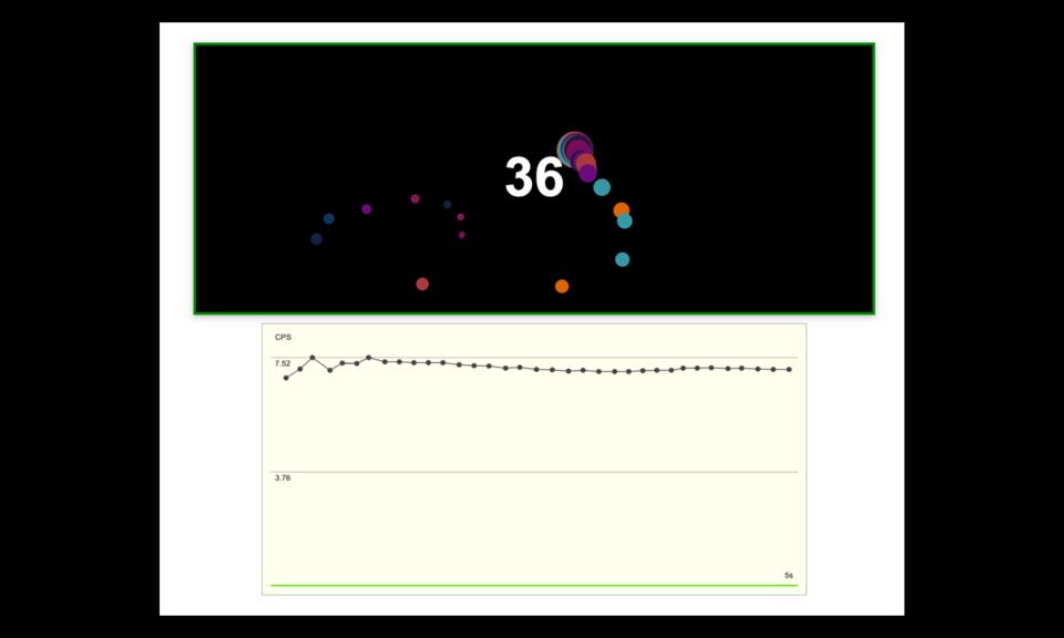CPS手速测试 - 鼠标点击速度测试