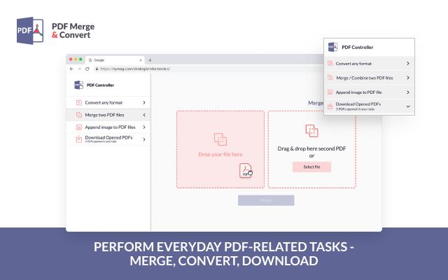 PDF Merge and Convert-PDF合并转换器
