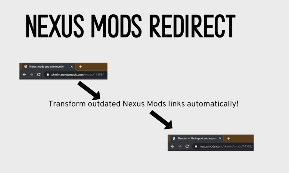 Nexus Link Fixer